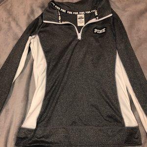 PINK athletic quarter zip